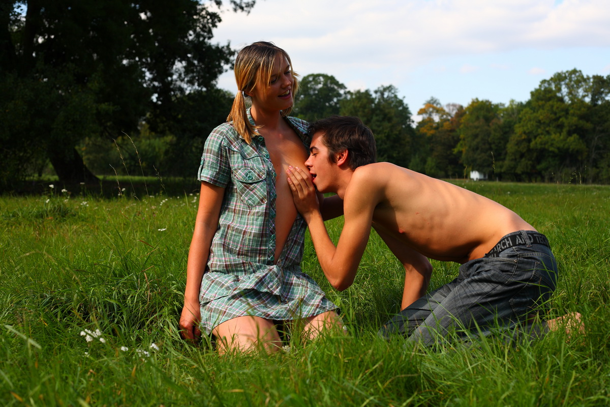 facial ,  grass ,  hardcore ,  nature ,  outdoor ,  teen ,  teendorf